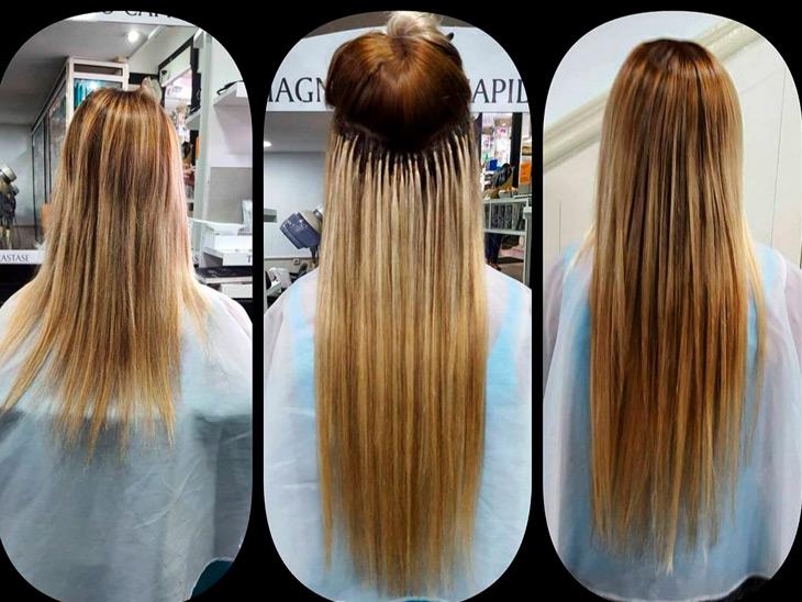 Extensiones cabello natural Málaga